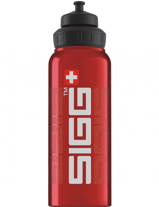 SIGG Trinkflasche 1.0 l Wide Mouth SIGGnature Red