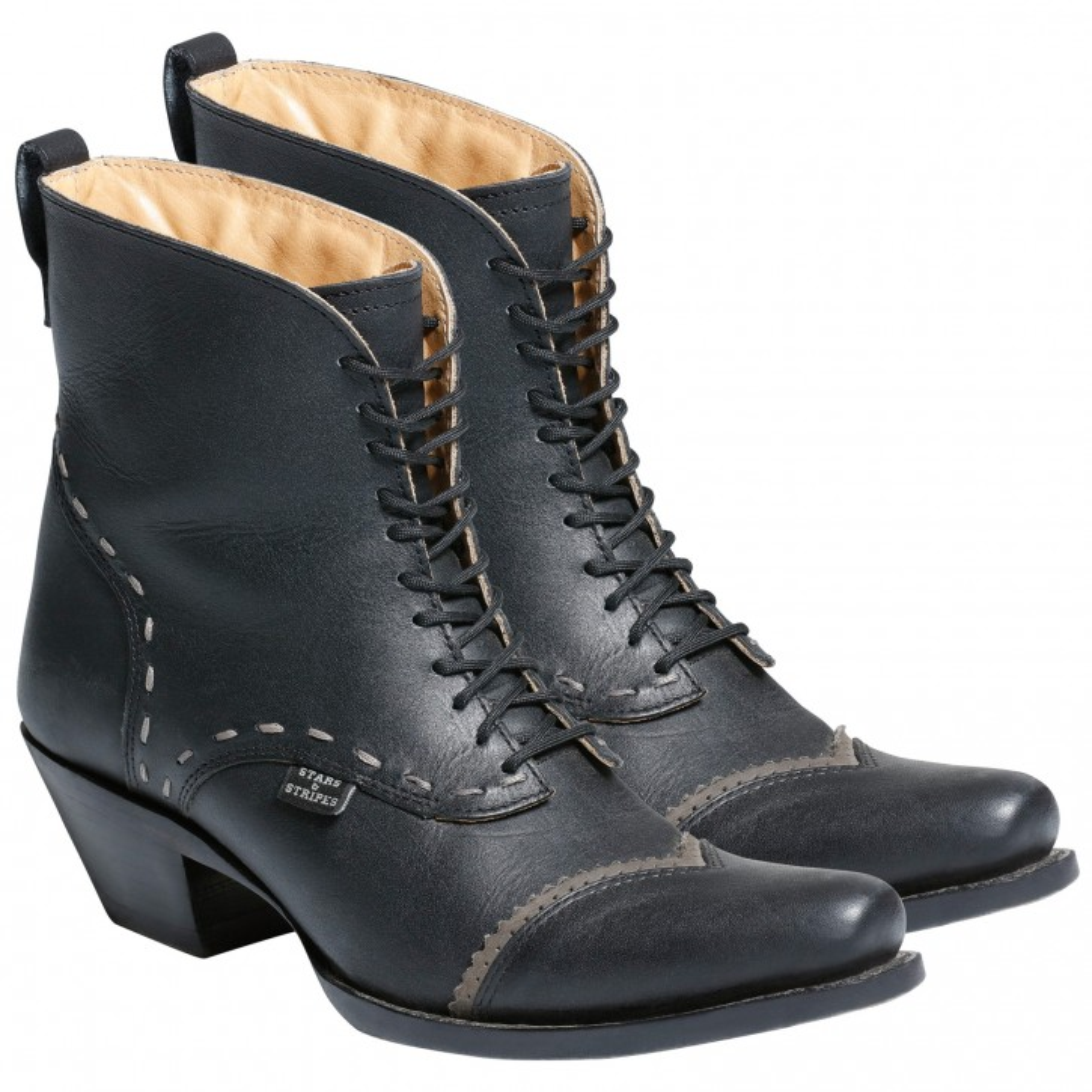 Stars & Stripes Damen Stiefel Western Boots »ASHLEY« Schwarz