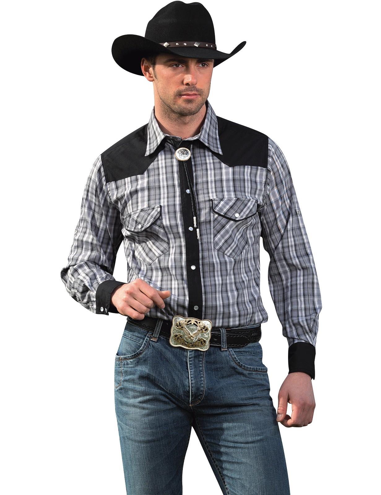 Stars & Stripes Herren Westernhemd »BRIAN«