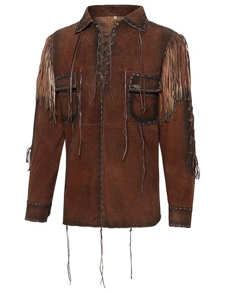 Stars & Stripes Herren Westernhemd »CROCKETT«
