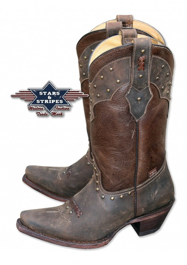 Stars & Stripes Damen Stiefel Western Boots »WBL-27«