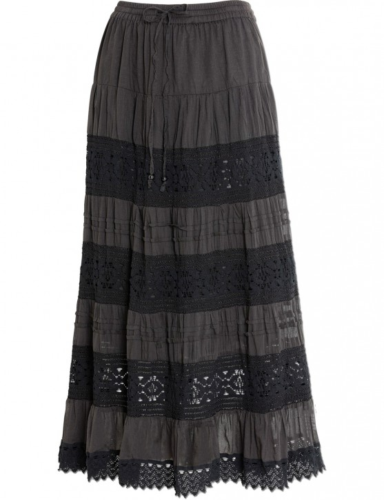 Stars & Stripes Damen Western Maxi-Rock »ELENA«