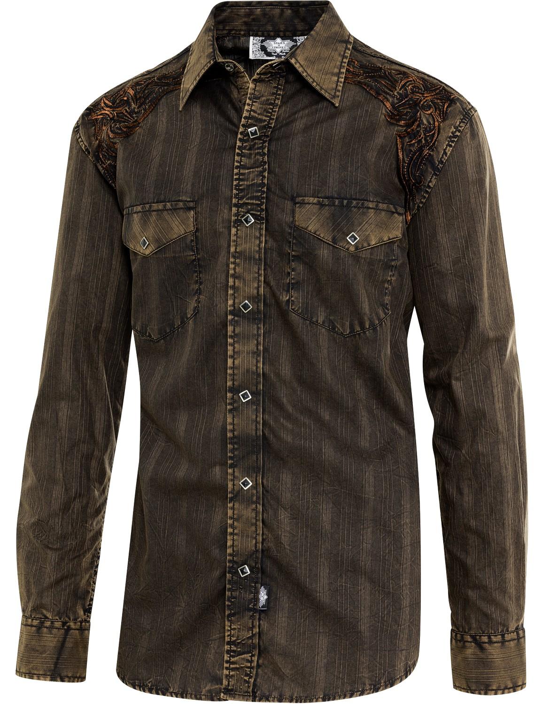 Stars & Stripes Herren Westernhemd »FERNANDO«