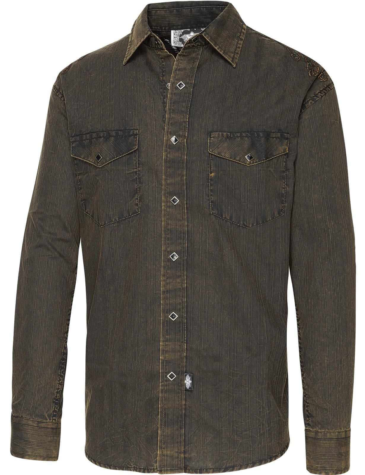 Stars & Stripes Herren Westernhemd »GOLDEN EAGLE«