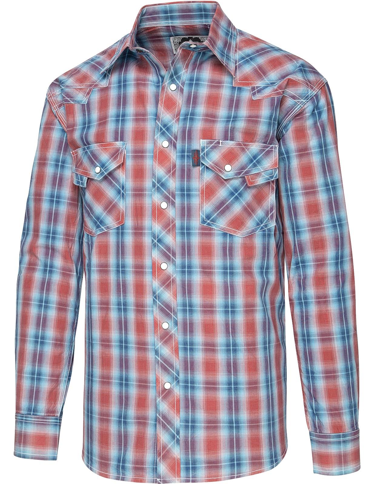 Stars & Stripes Herren Westernhemd »LORENZO«