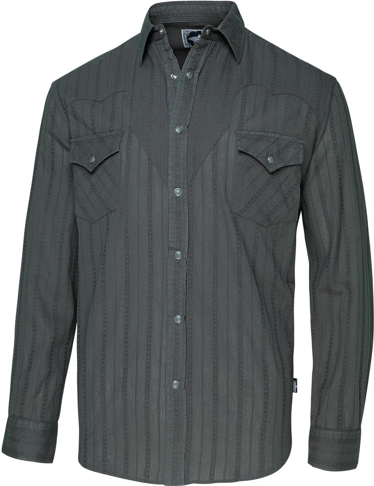 Stars & Stripes Herren Westernhemd »ROBIN GREY«