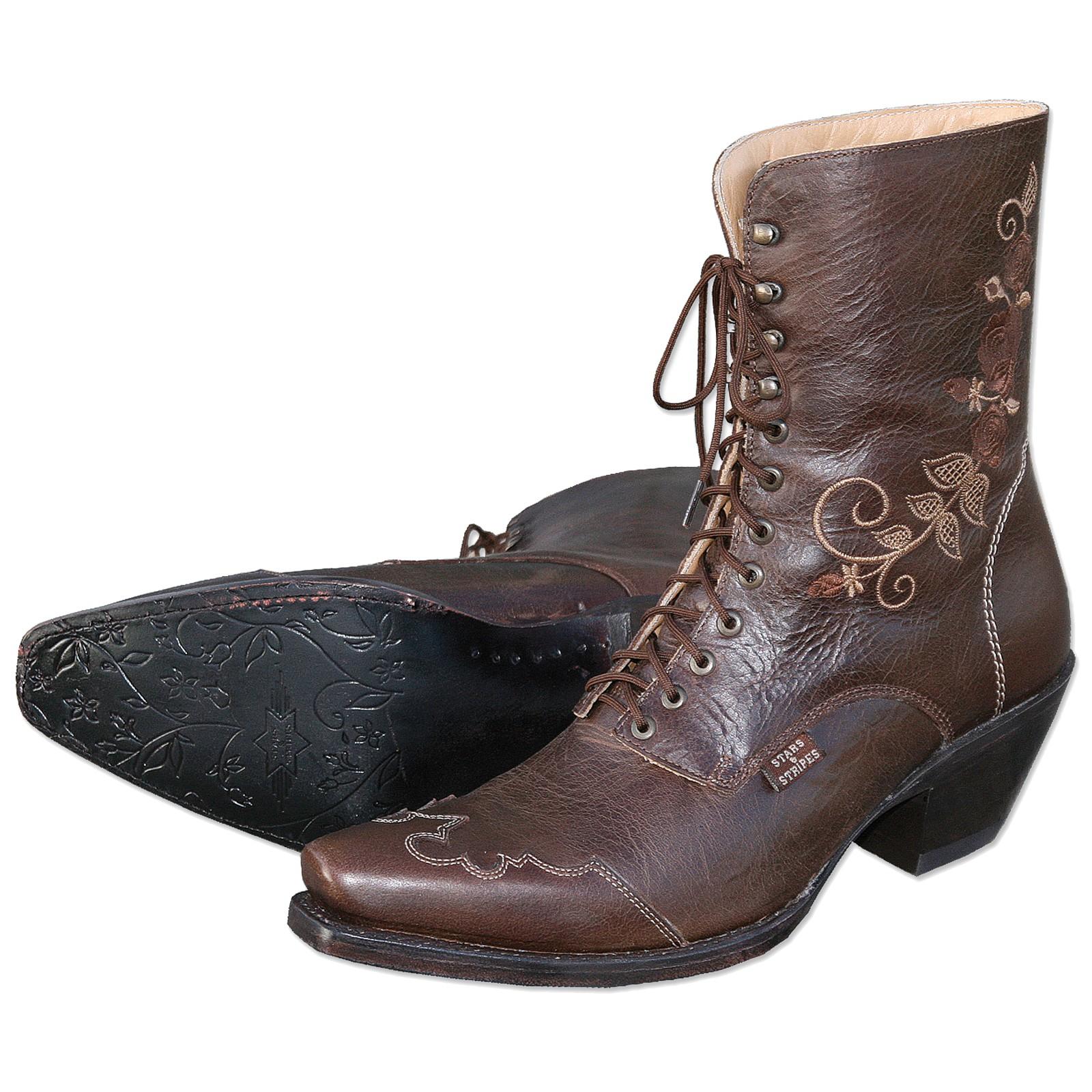 Stars & Stripes Damen Stiefel Western Boots »ROSI« Braun