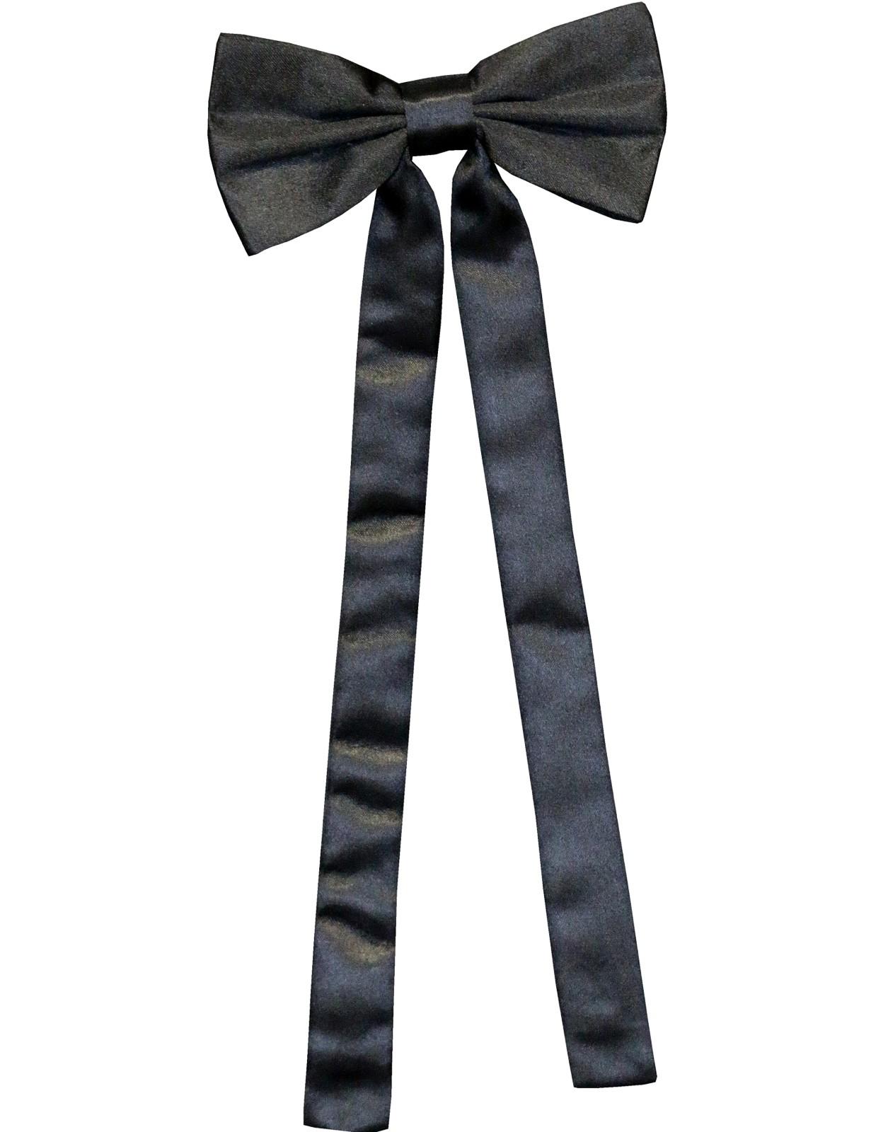 Stars & Stripes Westerntie »T-01« Schwarz
