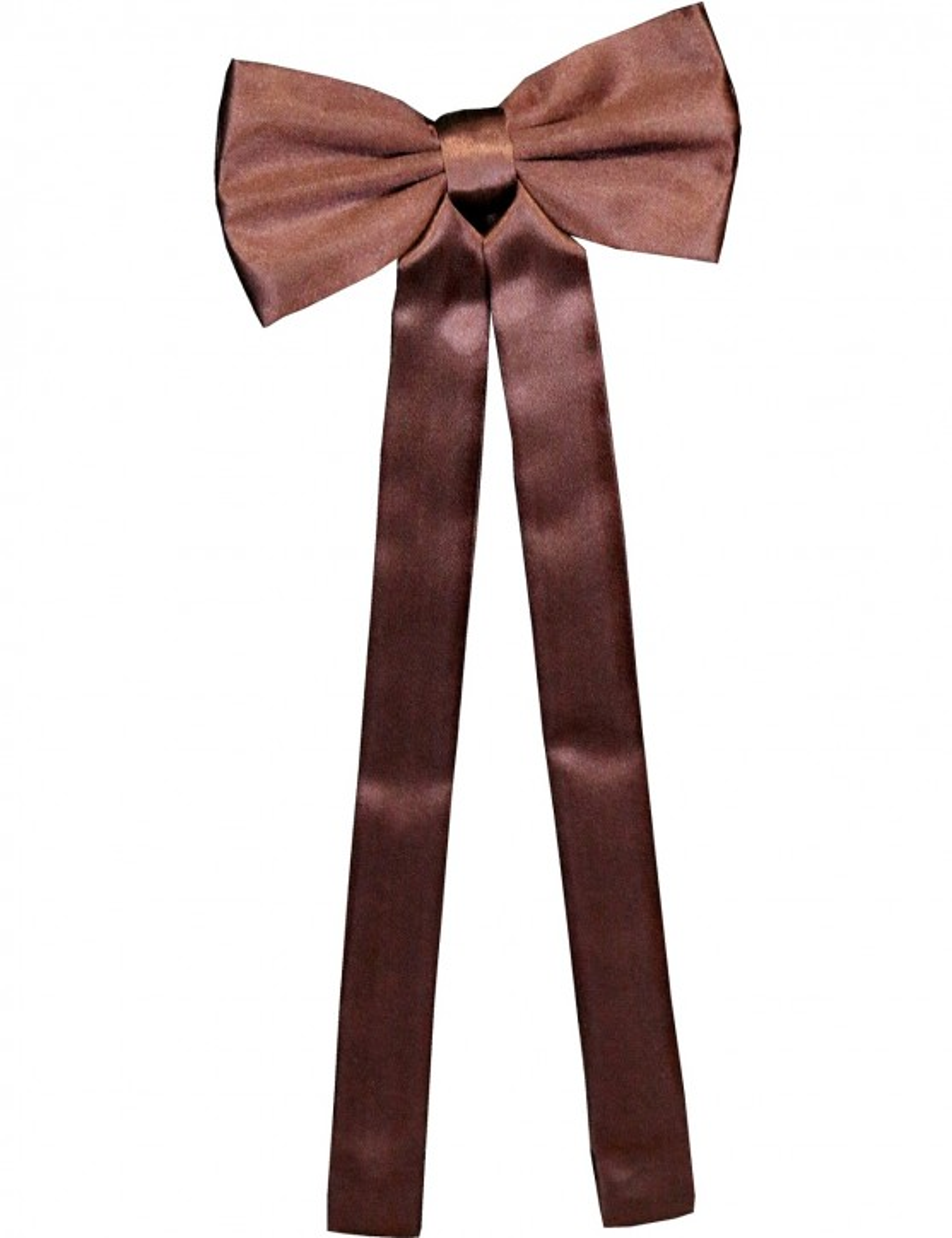 Stars & Stripes Westerntie »T-03« Braun
