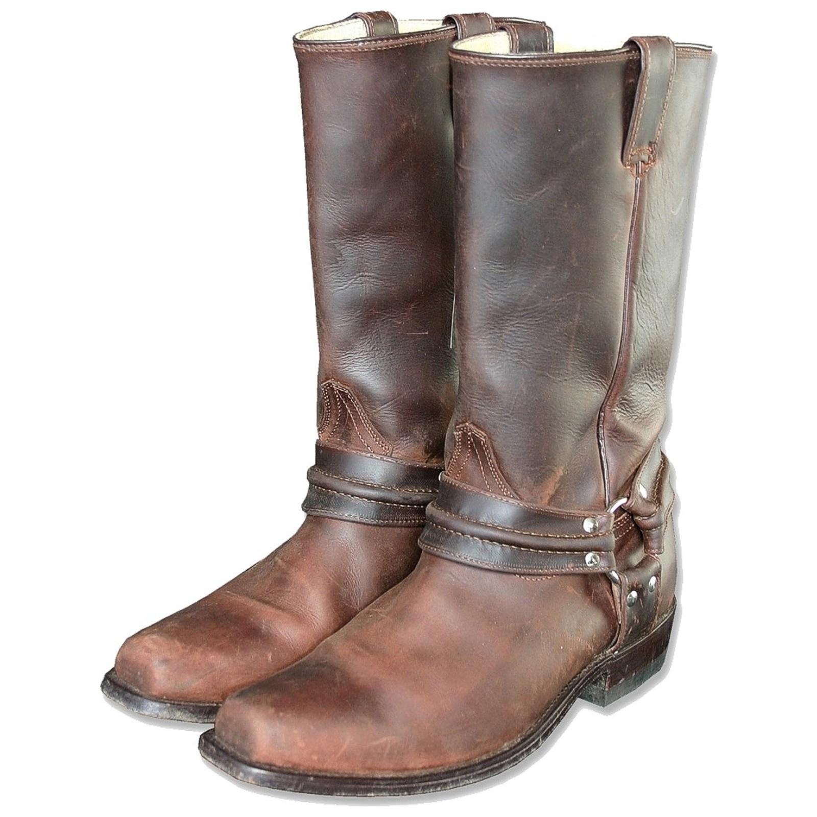 Stars & Stripes Herren Damen Stiefel Western Boots »WB-01« Braun