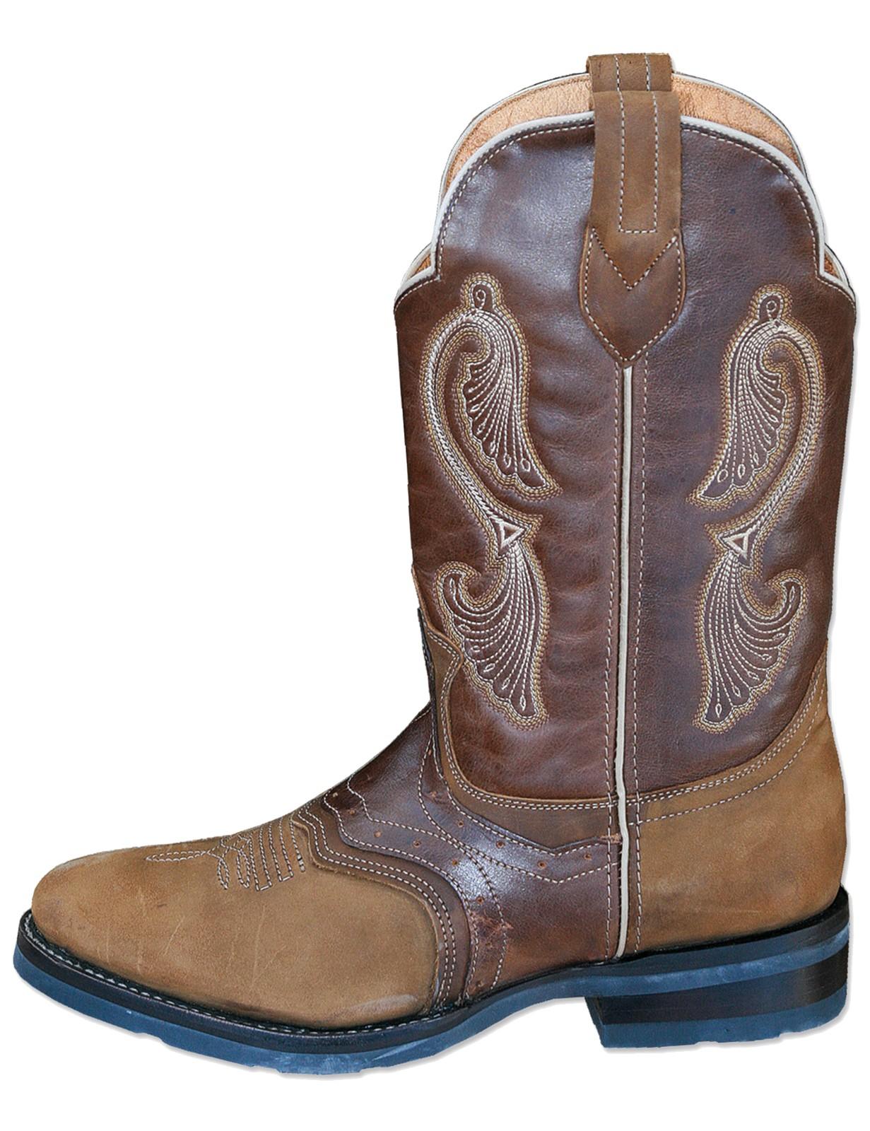 Stars & Stripes Herren Damen Stiefel Western Boots »WB-27« Braun