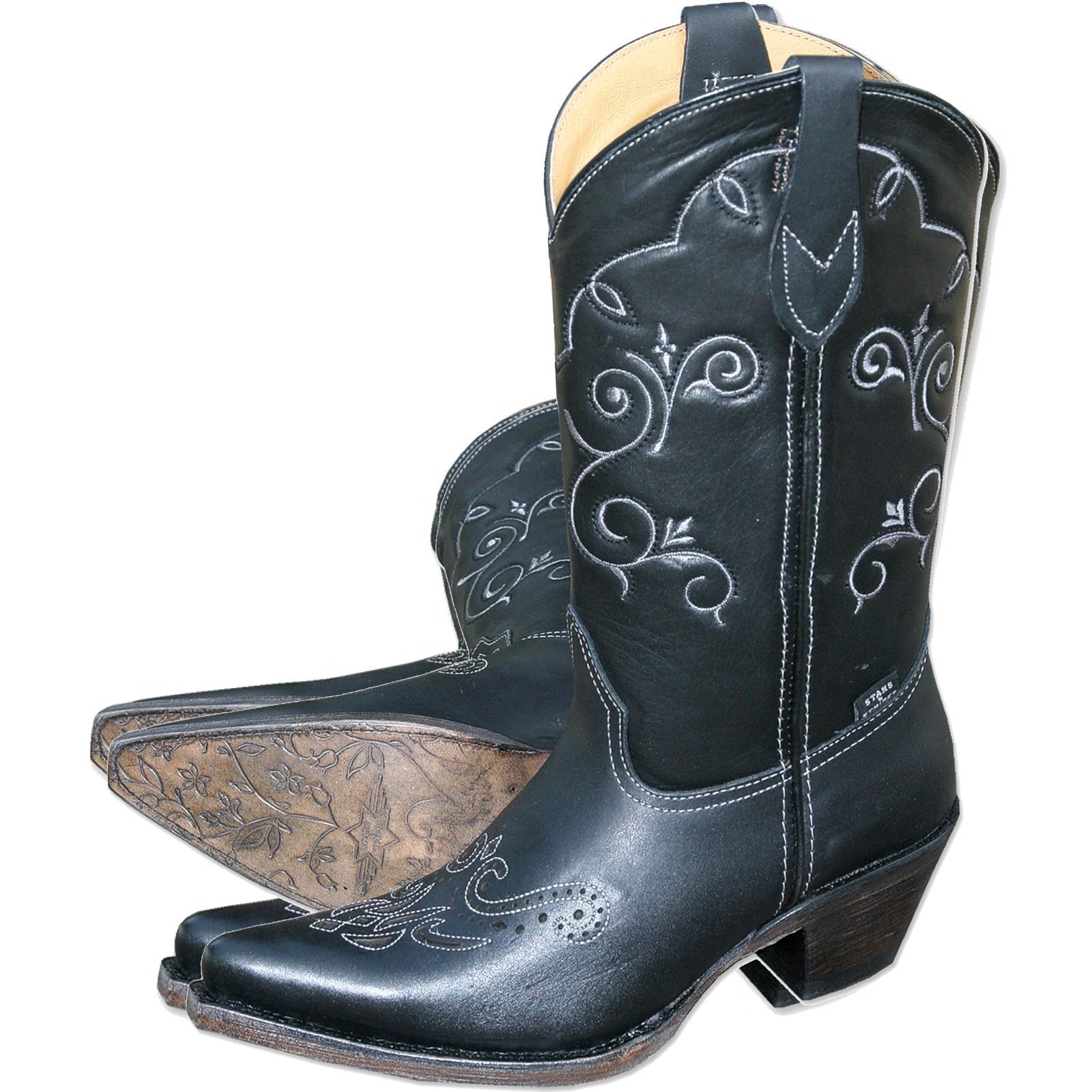 Stars & Stripes Damen Stiefel Western Boots »WBL-29«