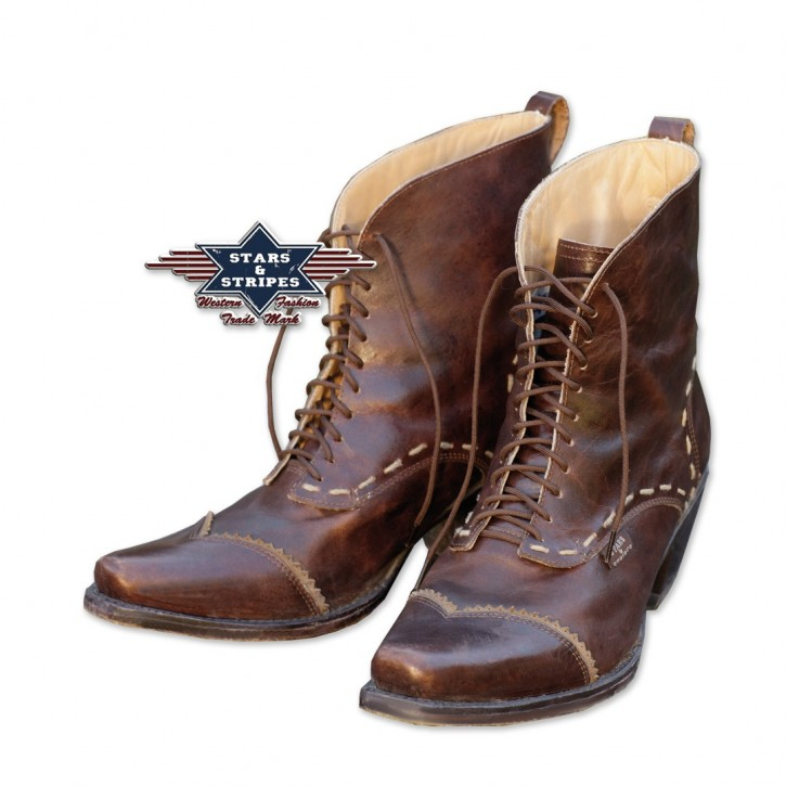 Stars & Stripes Damen Western-Boots »ASHLEY« Braun