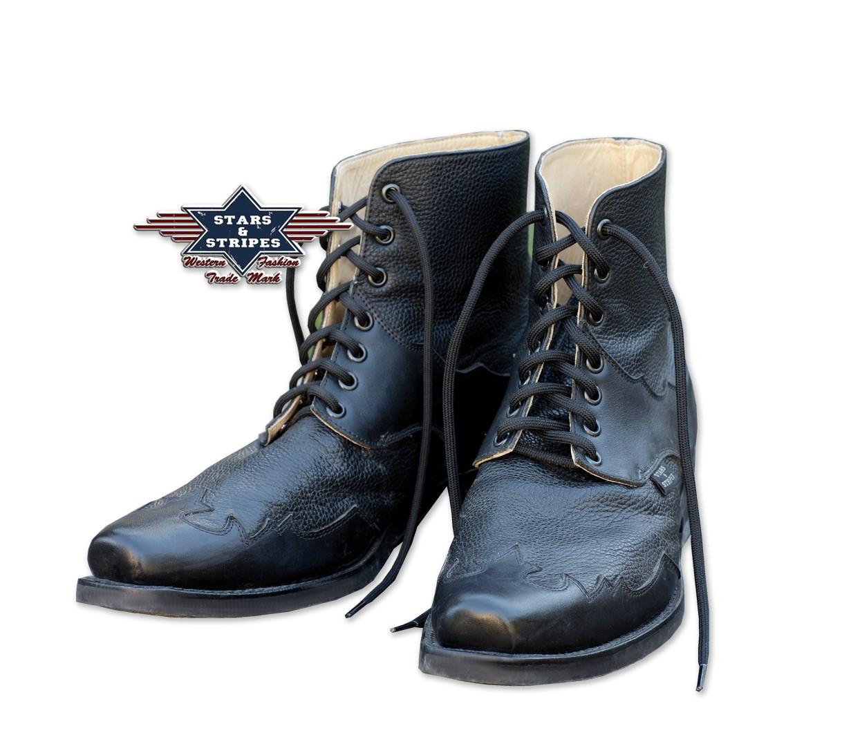 Stars & Stripes Western-Boots »HENDERSON« Schwarz