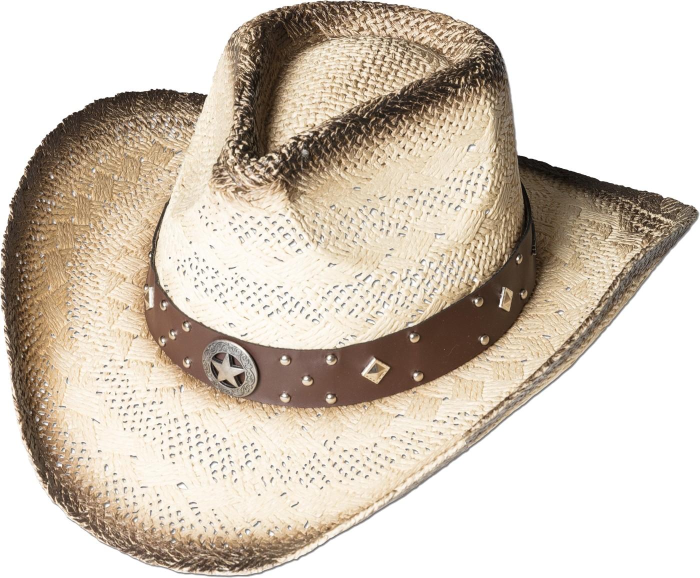 Stars & Stripes Strohhut Westernhut Cowboyhut »SANTIAGO«