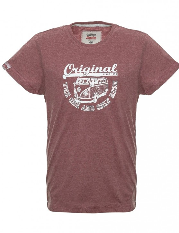 Boys T-Shirt VW Bulli ORIGINAL RIDE New Red / White
