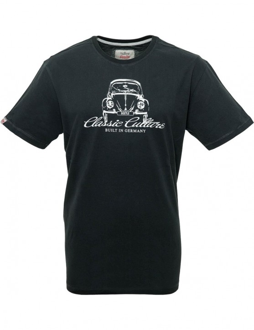 Herren T-Shirt VW BEETLE CLASSIC Black / White