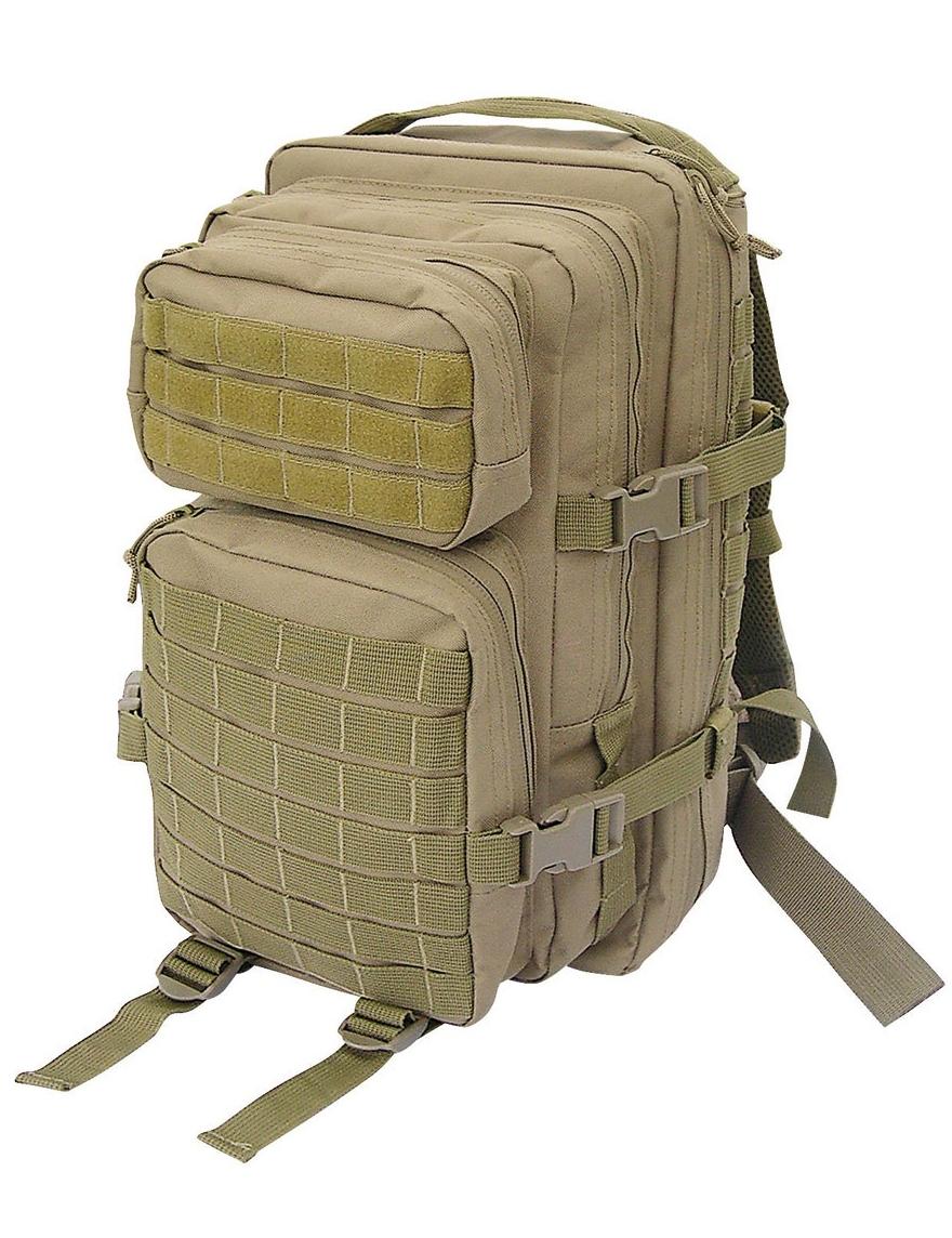 Assault Pack S US Rucksack Trekking Army Wandern Coyote