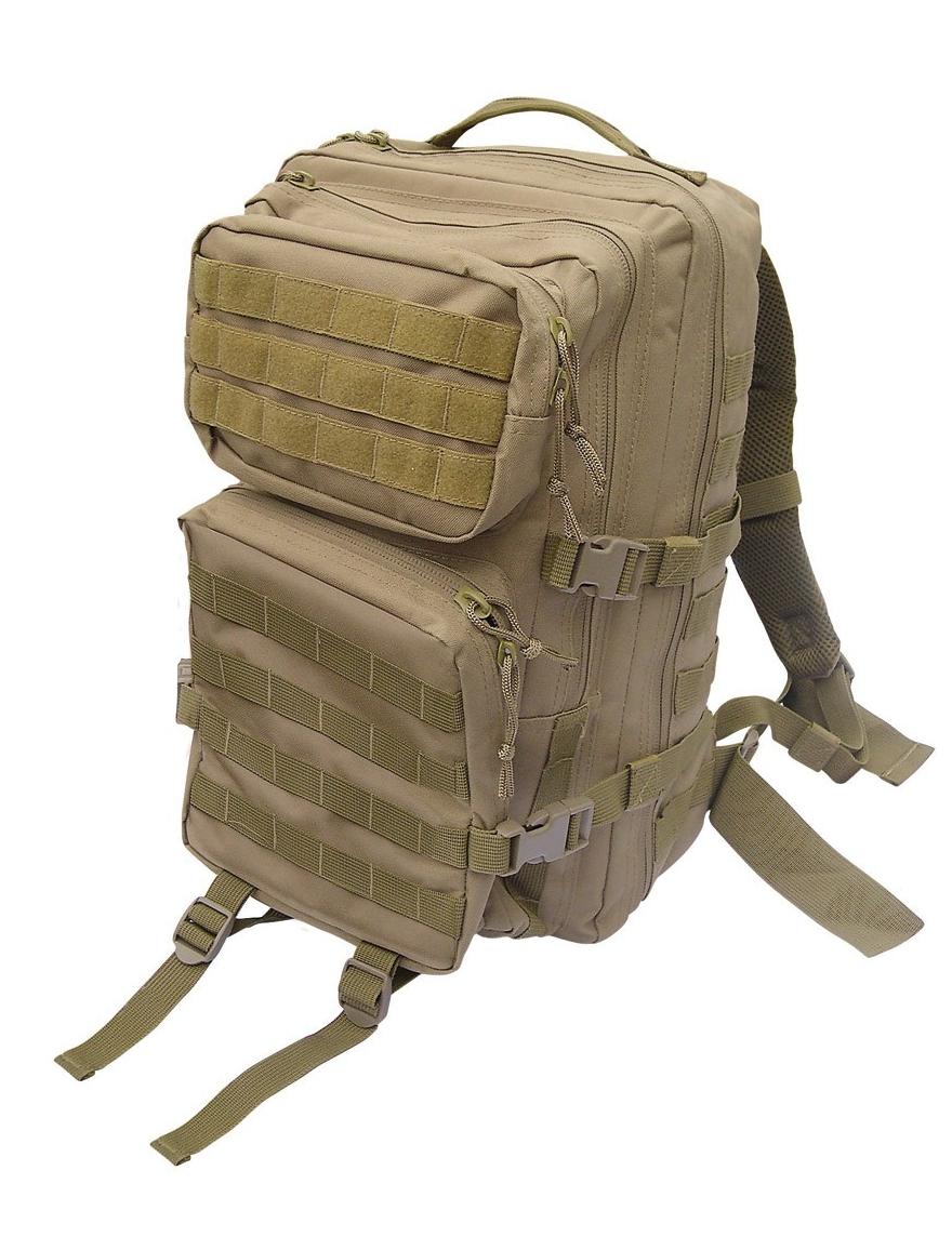 Assault Pack L US Rucksack Trekking Army Wandern Coyote