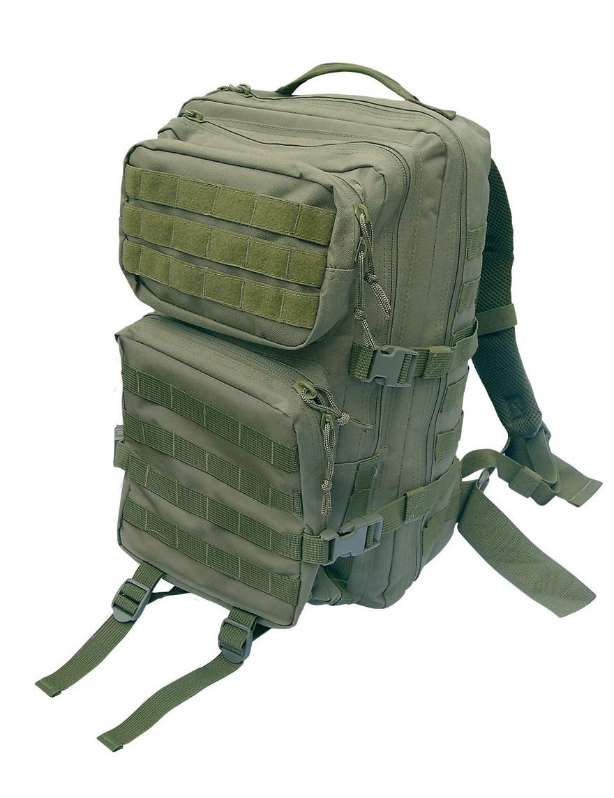 Assault Pack L US Rucksack Trekking Army Wandern Oliv
