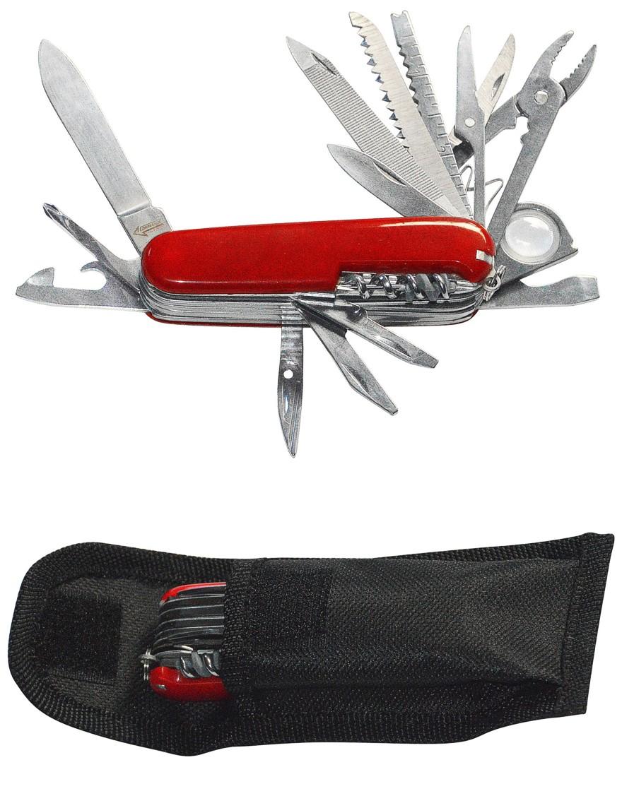 Multi-Zweck-Taschenmesser 23 Funktionen mit Gürteltasche