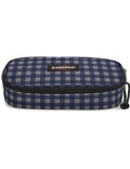 Eastpak Oval Schlampermäppchen Checksange Blue