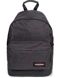 Eastpak Rucksack »Wyoming« mit Lederboden Loud Black