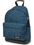 Eastpak Rucksack »Wyoming« mit Lederboden Navy Blocks