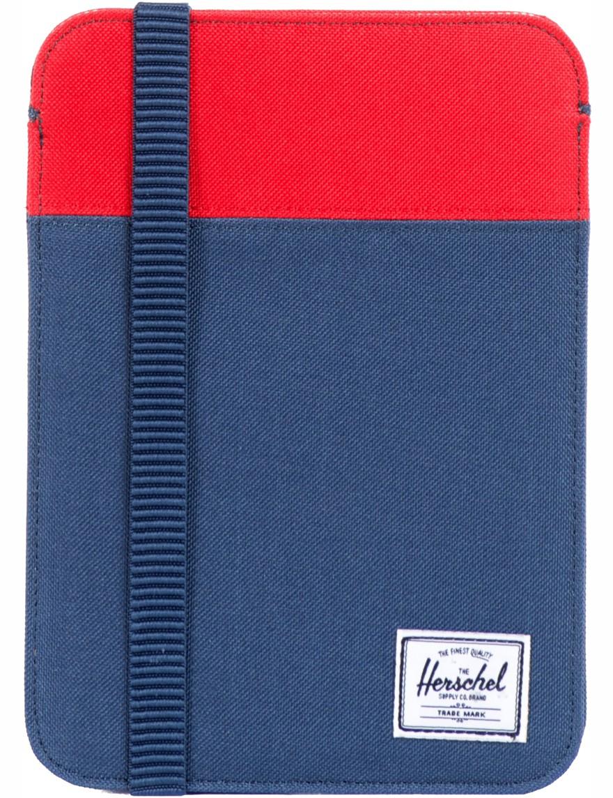 Herschel »Cypreß« Hülle für iPad Mini Navy Red