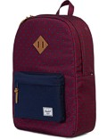 Herschel Rucksack »Heritage« University Windsor Wine Peacoat