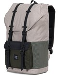 Herschel Rucksack »Little America« Light Khaki Croßhatch Forest Night