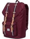 Herschel Rucksack »Little America« Windsor Wine Veggie Tan