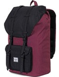 Herschel Rucksack »Little America« Windsor Wine Grid Black Black