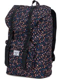 Herschel Rucksack »Little America« Mid-Volume Black Mini Floral
