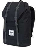 Herschel Rucksack »Retreat« Dark Shadow Black Black