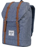 Herschel Rucksack »Retreat« Dark Chambray Croßhatch Tan