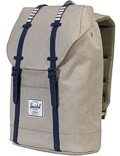 Herschel Rucksack »Retreat« Light Khaki Croßhatch Peacoat