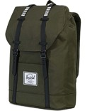 Herschel Rucksack »Retreat« Forest Night Black Rubber White