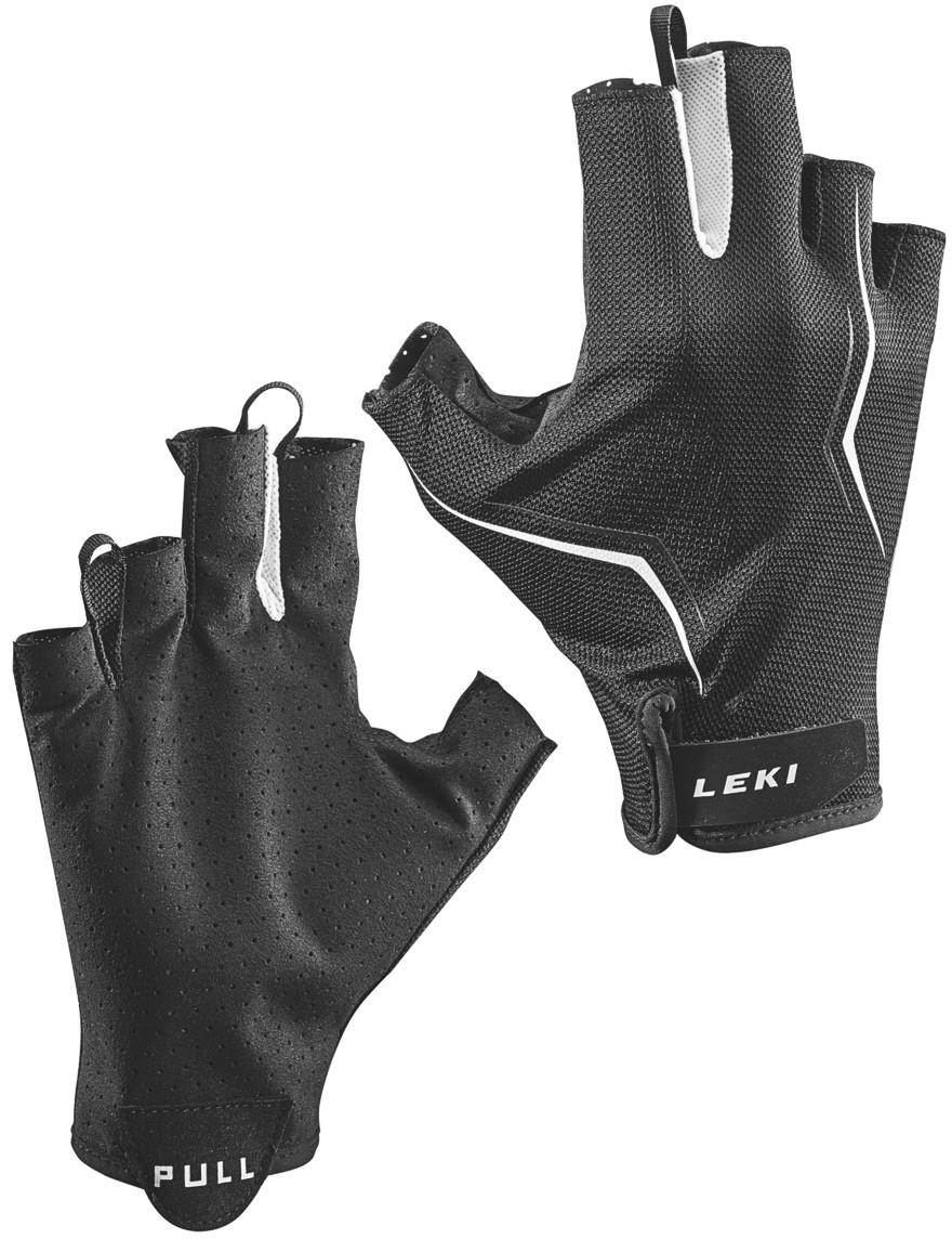 LEKI Handschuhe »Multi Lite Short« Schwarz-Weiß