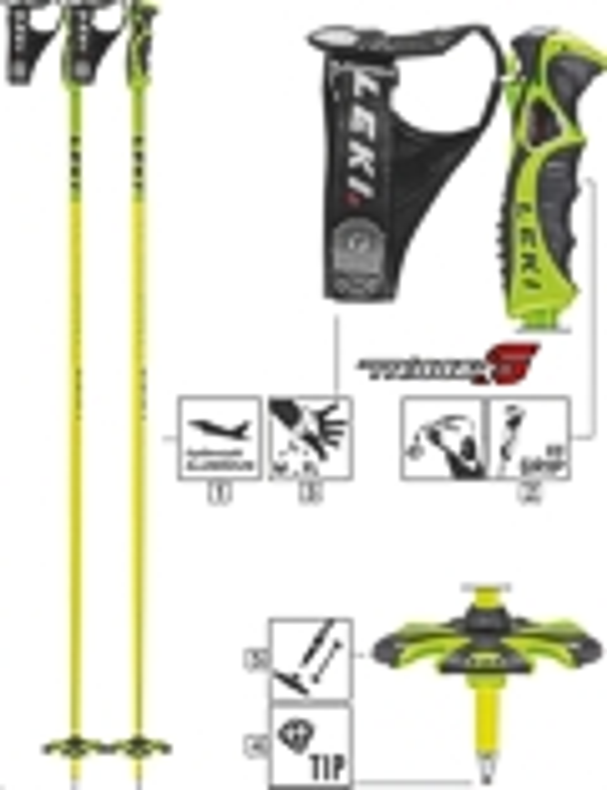 LEKI Skistöcke »Spitfire S« Trigger S ALU Neongelb