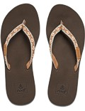 REEF Damen Sandalen Sandels »GINGER« Brown Peach