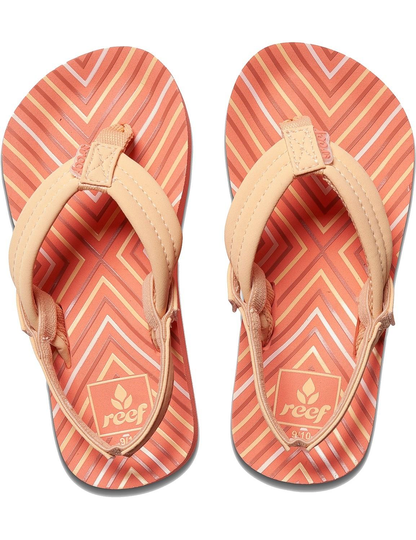 REEF Girls Kinder-Sandalen Sandels »LITTLE AHI« Coral