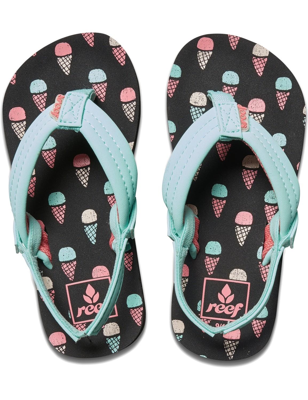 REEF Girls Kinder-Sandalen Sandels »LITTLE AHI« Ice Cream