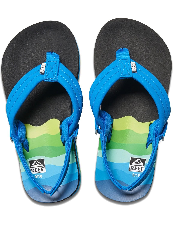 REEF Boys Kinder-Sandalen Sandels »AHI« Aqua Blue
