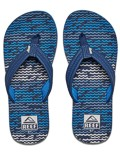 REEF Boys Kinder-Sandalen Sandels »AHI« Blue Horizon Waves