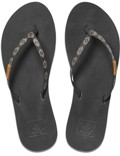 REEF Damen Sandalen Sandels »SLIM GINGER BEADS« Black