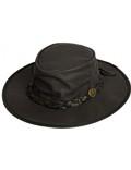 Scippis Leder Westernhut Cowboyhut »Kangaroo Dawson« Black Schwarz