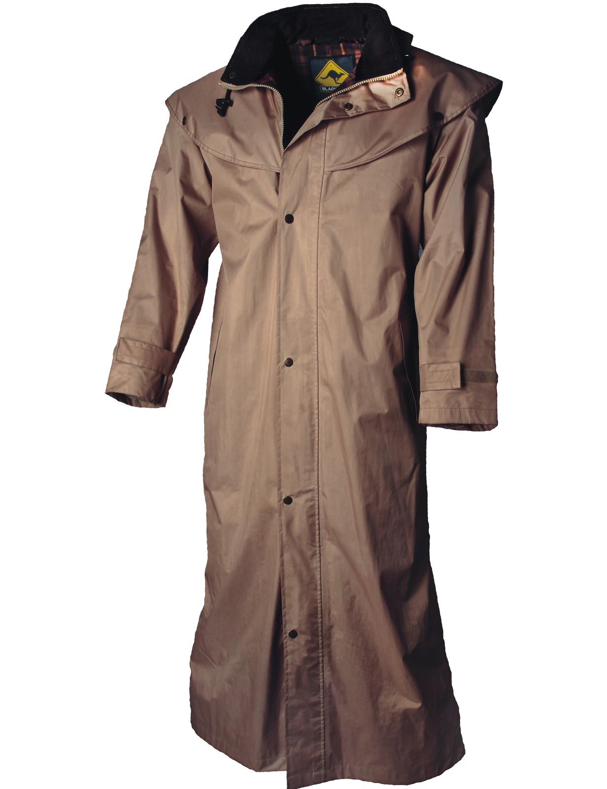 Black Roo »Stockman Coat« Mantel für Cowboys Biker BEIGE