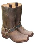Sendra Stiefel Mad Dog Tang Lavado Blues Braun