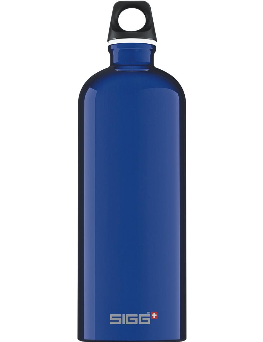 SIGG Trinkflasche 1.0 l Traveller Dunkelblau